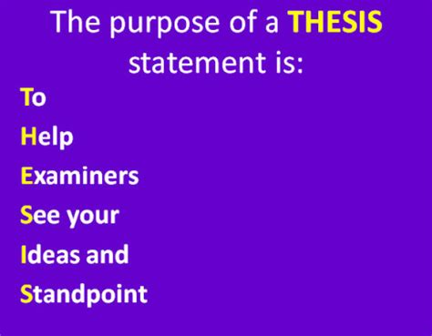 Ideas for masters thesis in education